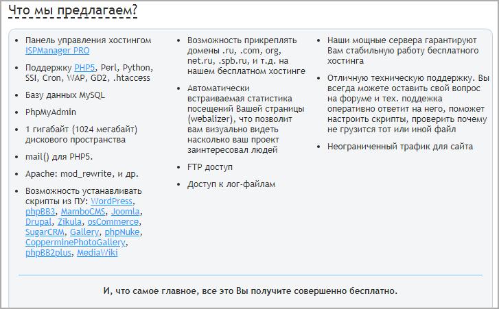 nx0 русский free хостинг
